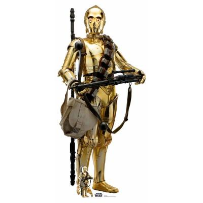 Star Wars - Rise of  skywalker - C-3PO cutout Silhouette Chevalet