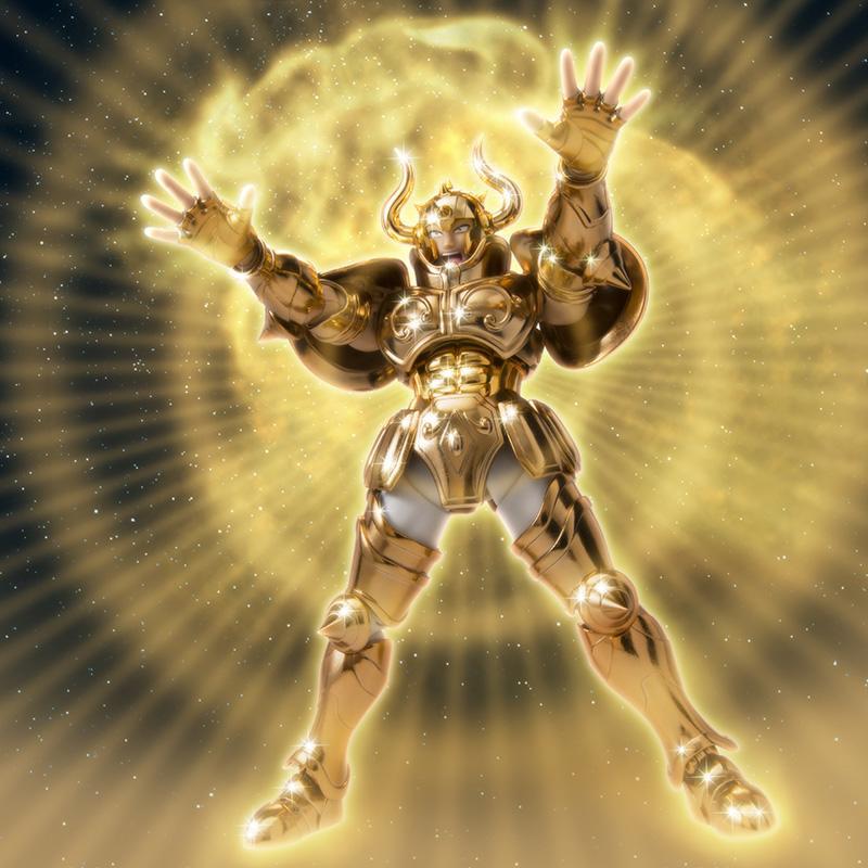 Taurus ex cloth myth oce bandai figurine saint seiya articulee 7