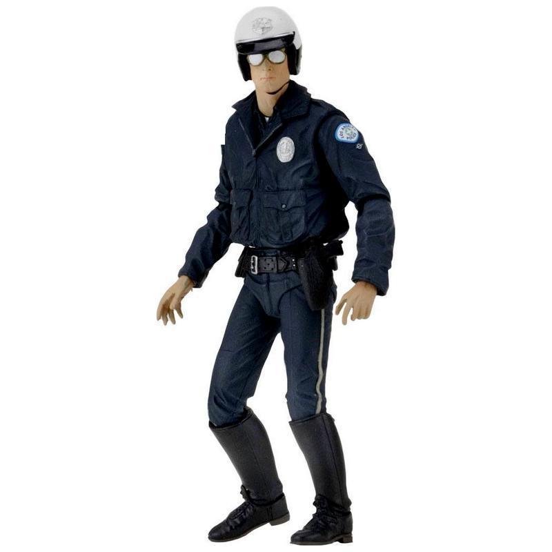 Terminator 2 figurine ultimate t 1000 motorcycle cop 18 cm 1 copie