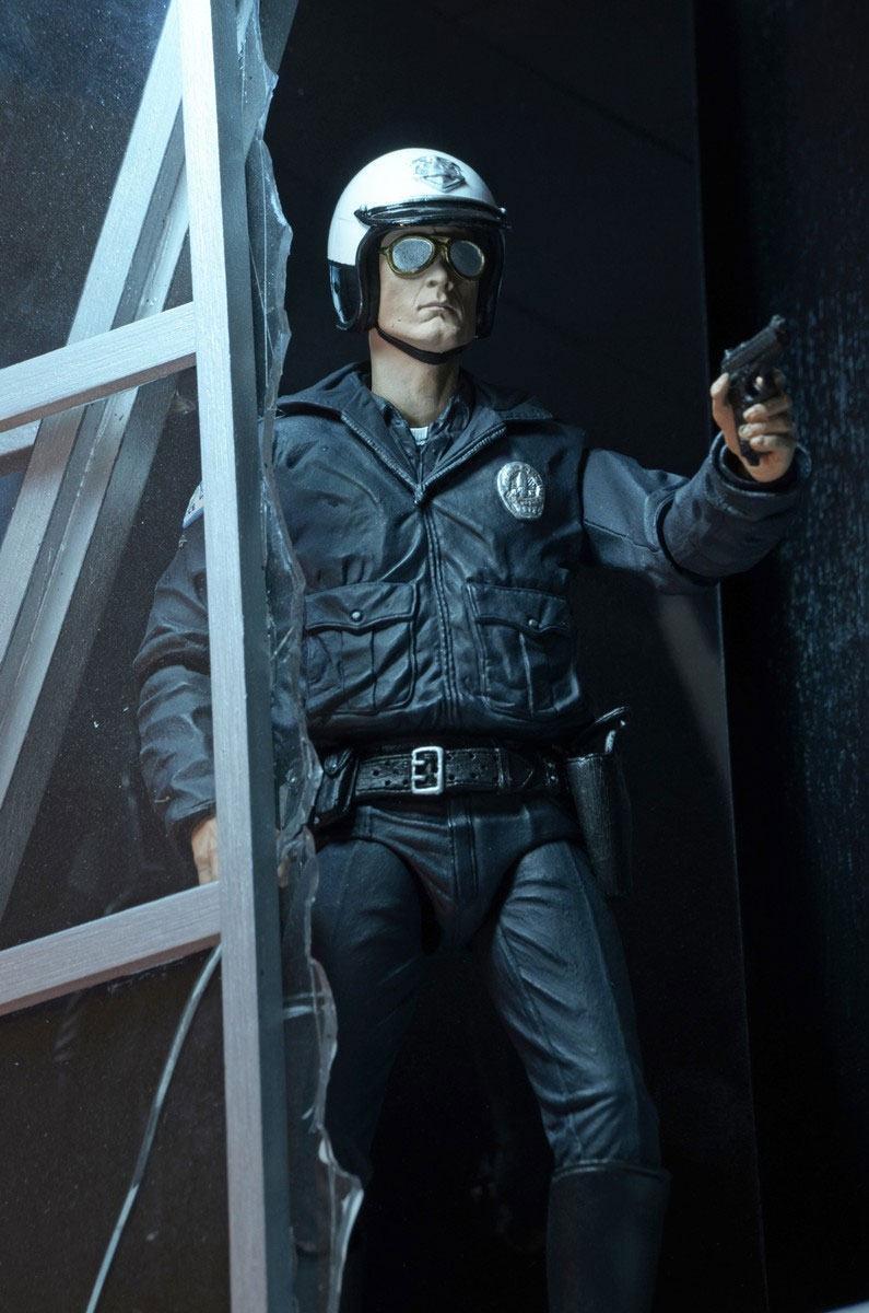 Terminator 2 figurine ultimate t 1000 motorcycle cop 18 cm 10