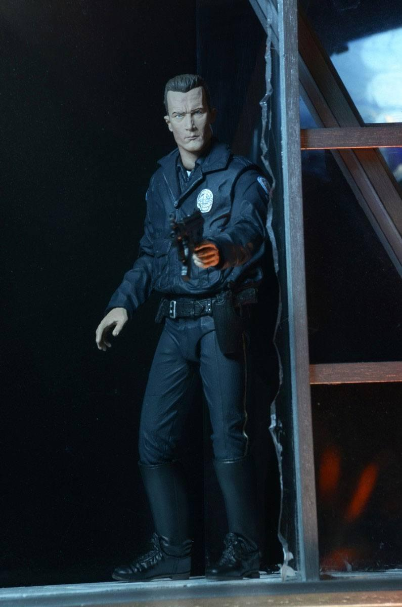 Terminator 2 figurine ultimate t 1000 motorcycle cop 18 cm 11