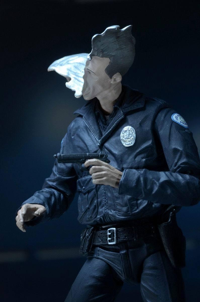 Terminator 2 figurine ultimate t 1000 motorcycle cop 18 cm 12