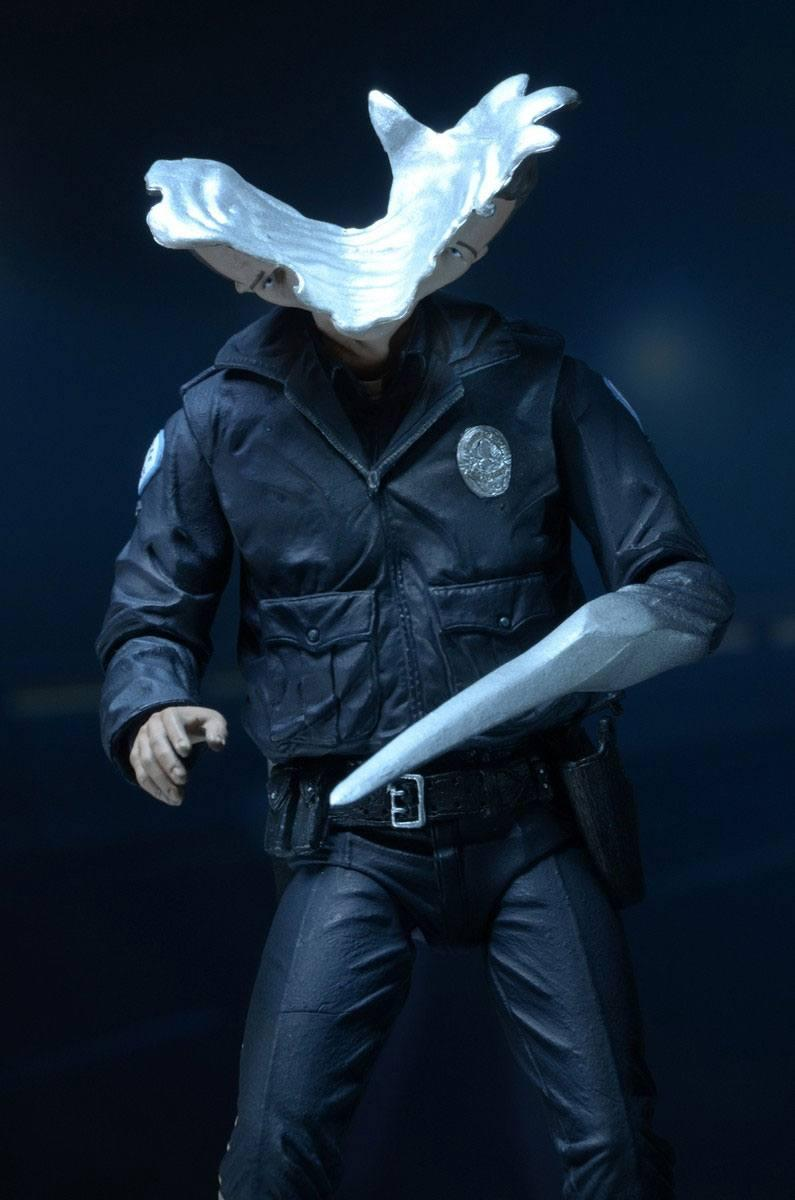 Terminator 2 figurine ultimate t 1000 motorcycle cop 18 cm 13