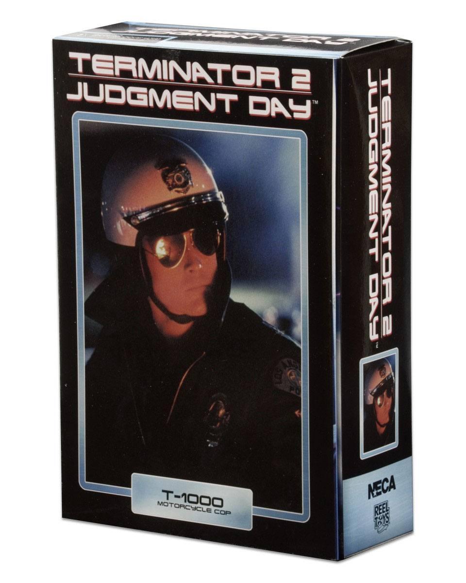 Terminator 2 figurine ultimate t 1000 motorcycle cop 18 cm 3