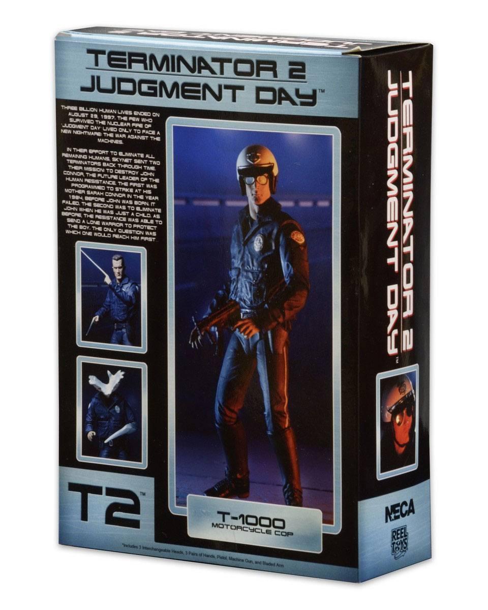 Terminator 2 figurine ultimate t 1000 motorcycle cop 18 cm 4