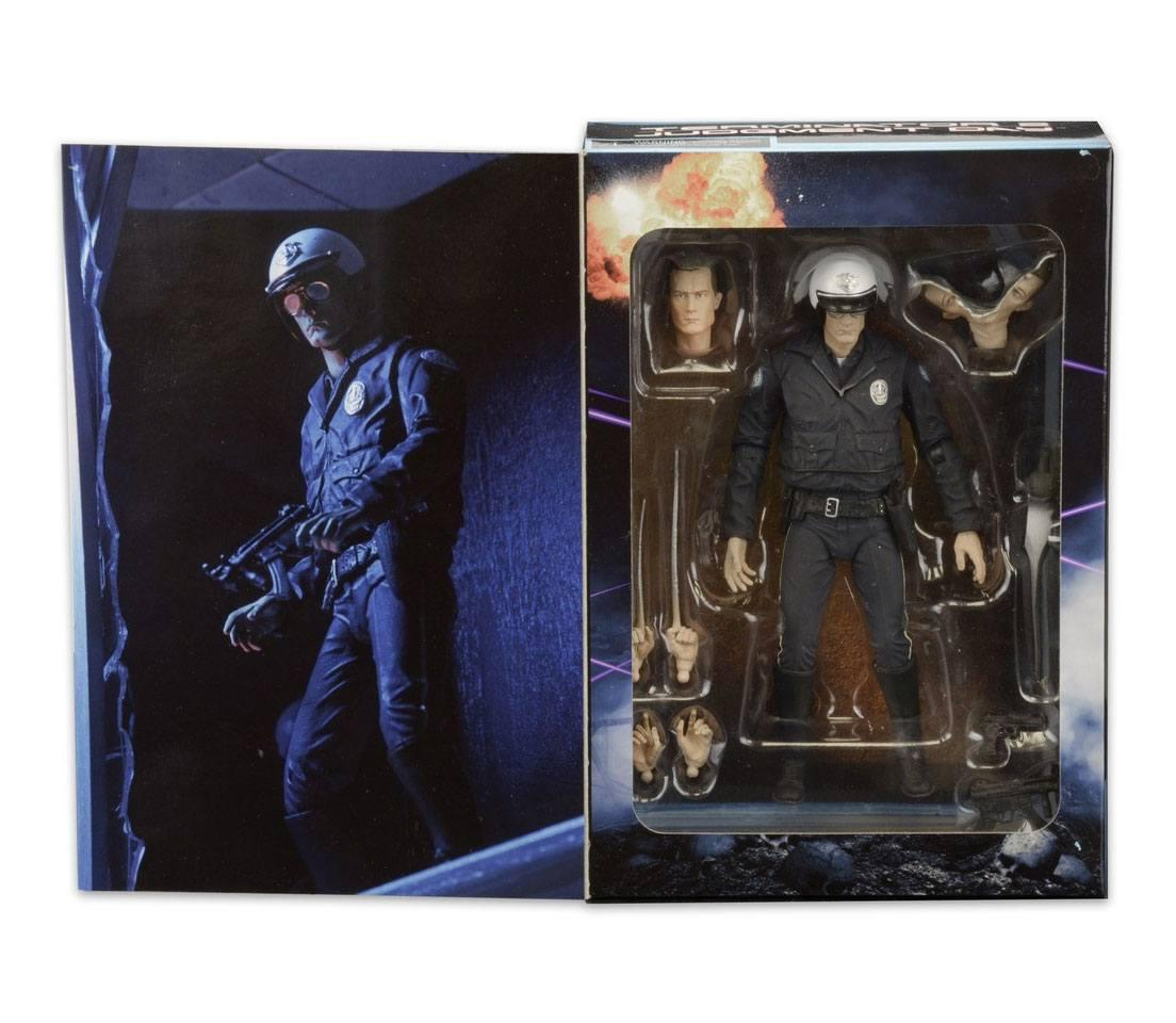 Terminator 2 figurine ultimate t 1000 motorcycle cop 18 cm 5