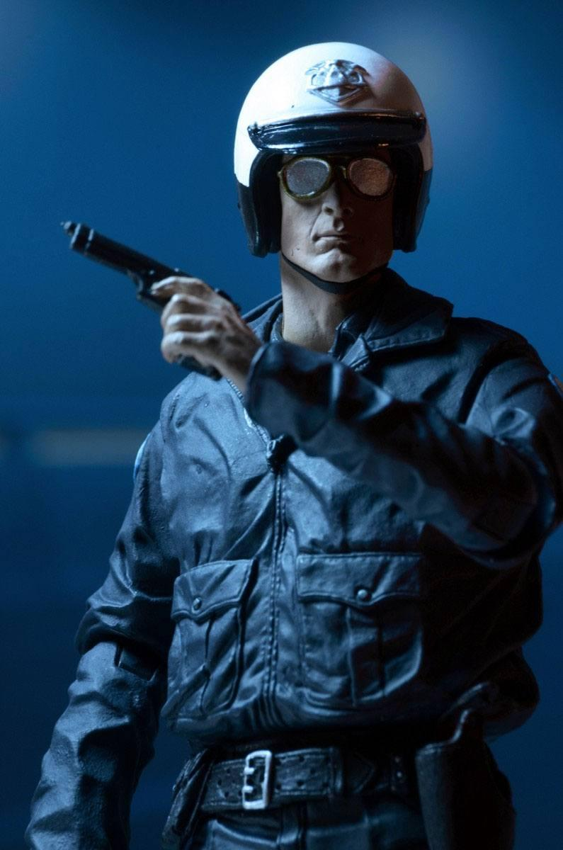 Terminator 2 figurine ultimate t 1000 motorcycle cop 18 cm 9