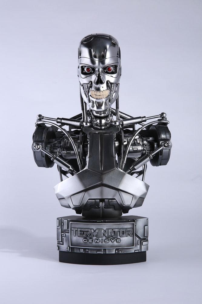 Terminator buste 12 endoskeleton genisys 35 cm 1