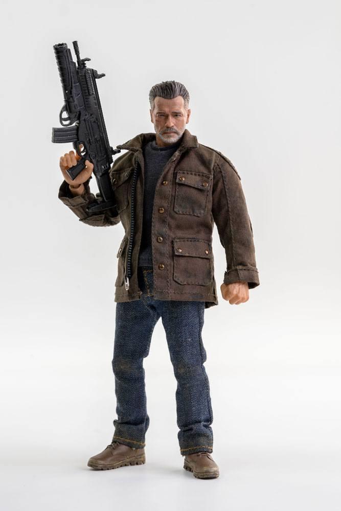 Terminator dark fate figurine 112 t 800 16 cm 1