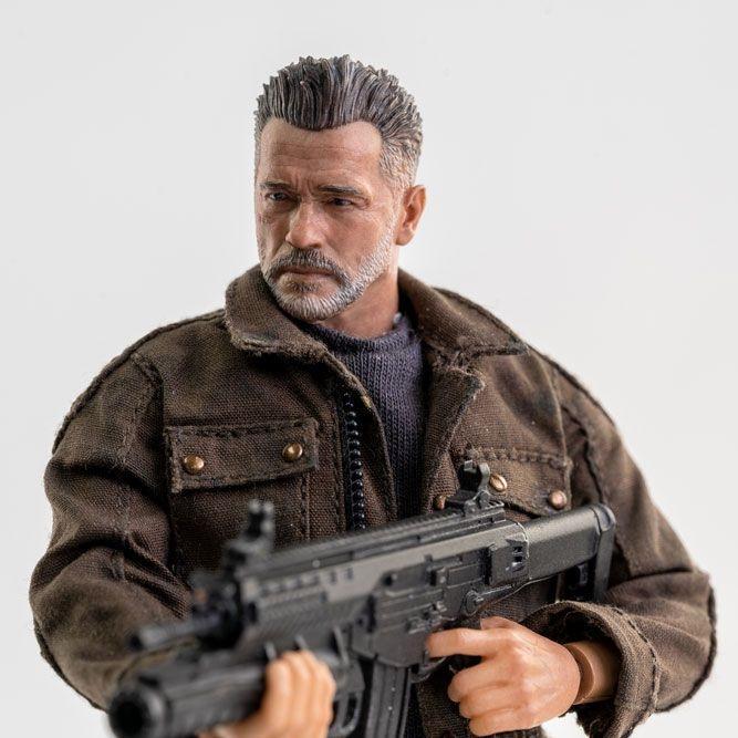 Terminator dark fate figurine 112 t 800 16 cm 3
