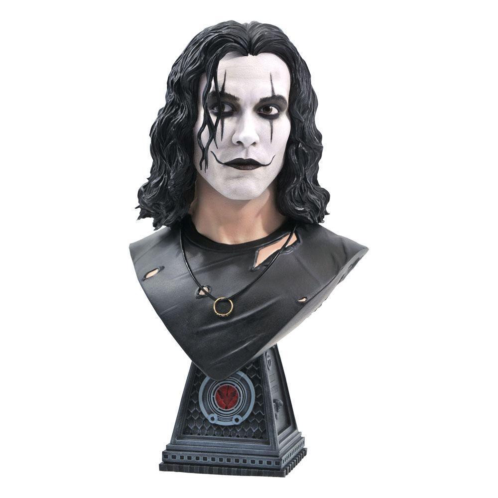 The crow legends 3d buste eric draven 25cm suukoo toys