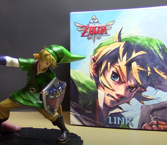 The legend of zelda statue link sword 24cm 4