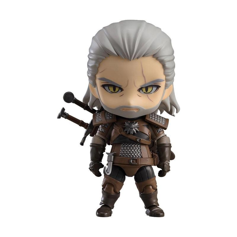 The witcher 3 wild hunt figurine nendoroid geralt 10 cm 1