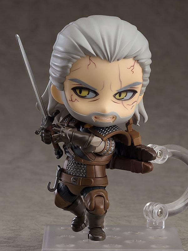 The witcher 3 wild hunt figurine nendoroid geralt 10 cm 3