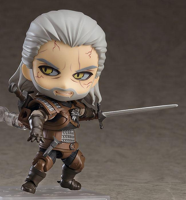 The witcher 3 wild hunt figurine nendoroid geralt 10 cm 4