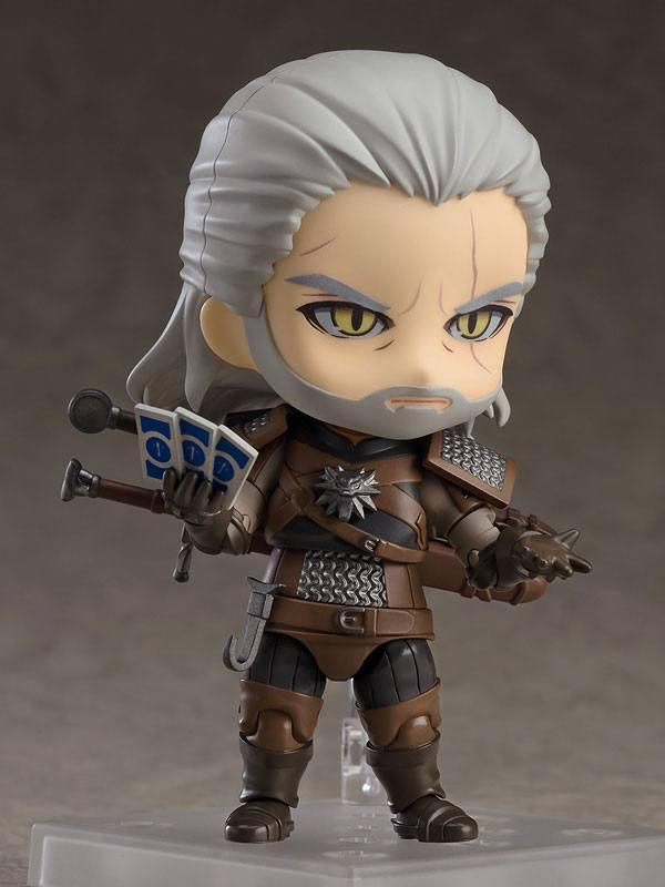 The witcher 3 wild hunt figurine nendoroid geralt 10 cm 5