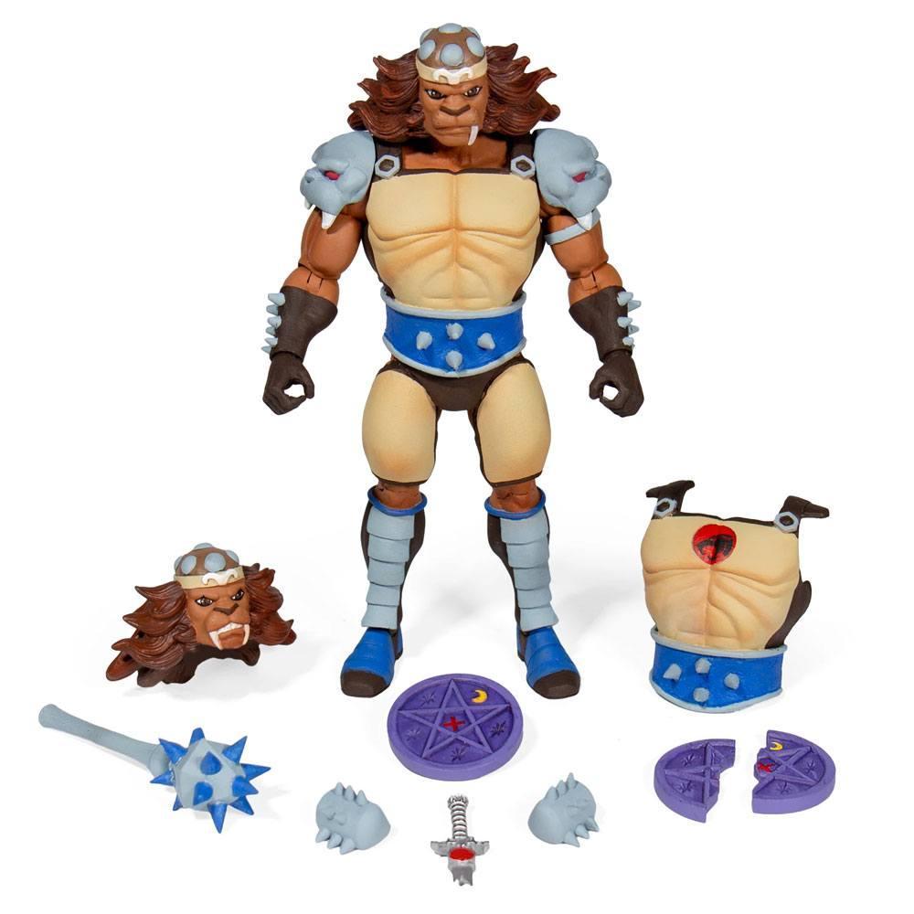 Thundercats wave 2 figurine ultimates grune the destroyer 18 cm suukoo toys figurine super7