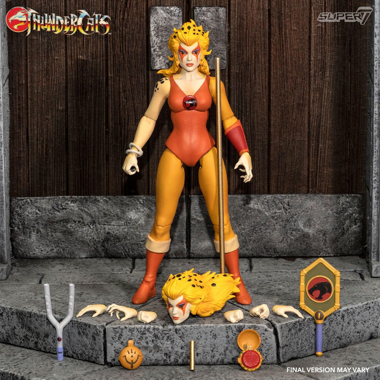 Thundercats wave 3 figurine ultimates cheetara the super speedy thundercats warrior 18 cm super7 suukoo toys