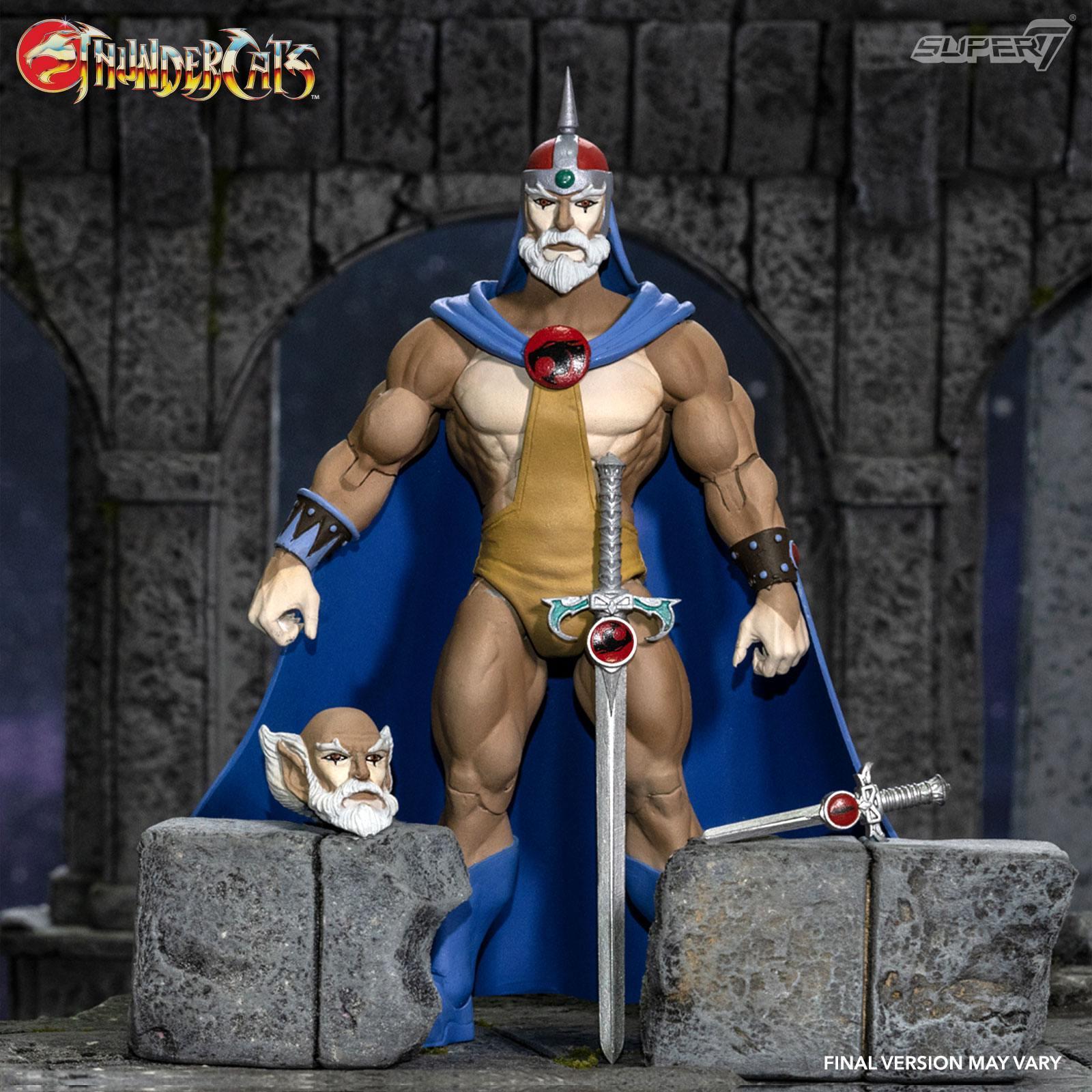 Thundercats wave 3 figurine ultimates jaga the wise thundercat mentor 18 cm super7 suukoo toys