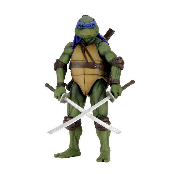 Tmnt les tortues ninja leonardo 42cm neca figurine articulee 1