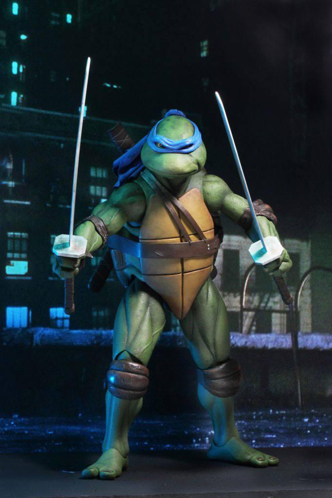 Tmnt les tortues ninja leonardo 42cm neca figurine articulee 2