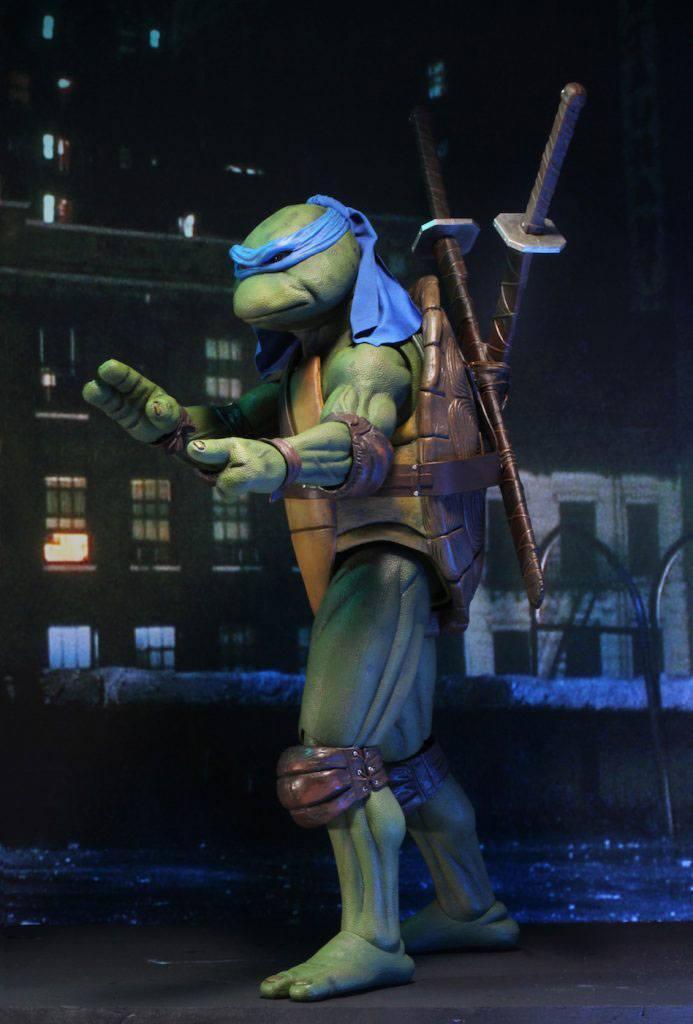 Tmnt les tortues ninja leonardo 42cm neca figurine articulee 3