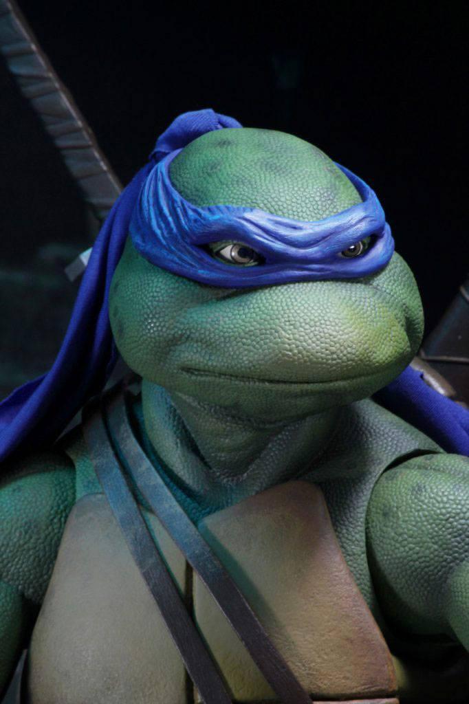 Tmnt les tortues ninja leonardo 42cm neca figurine articulee 4