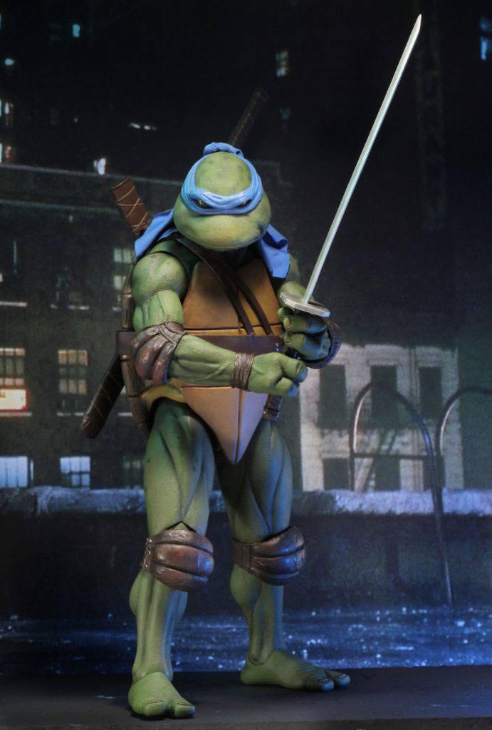 Tmnt les tortues ninja leonardo 42cm neca figurine articulee 5