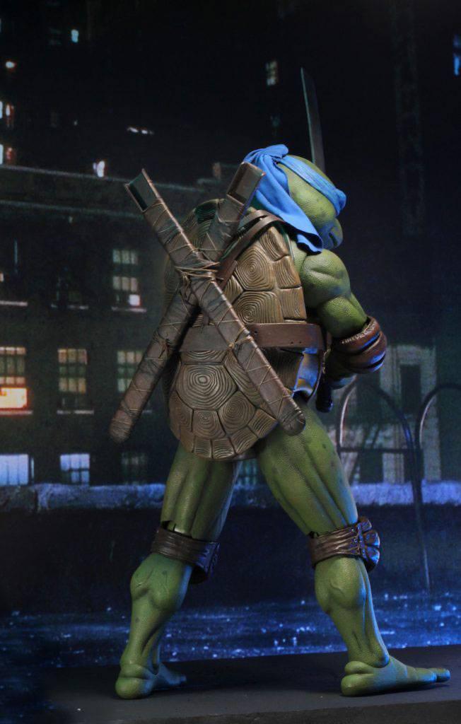 Tmnt les tortues ninja leonardo 42cm neca figurine articulee 6