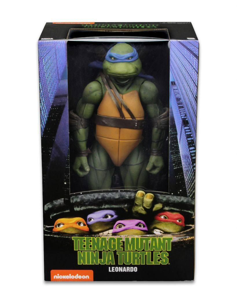 Tmnt les tortues ninja leonardo 42cm neca figurine articulee 7