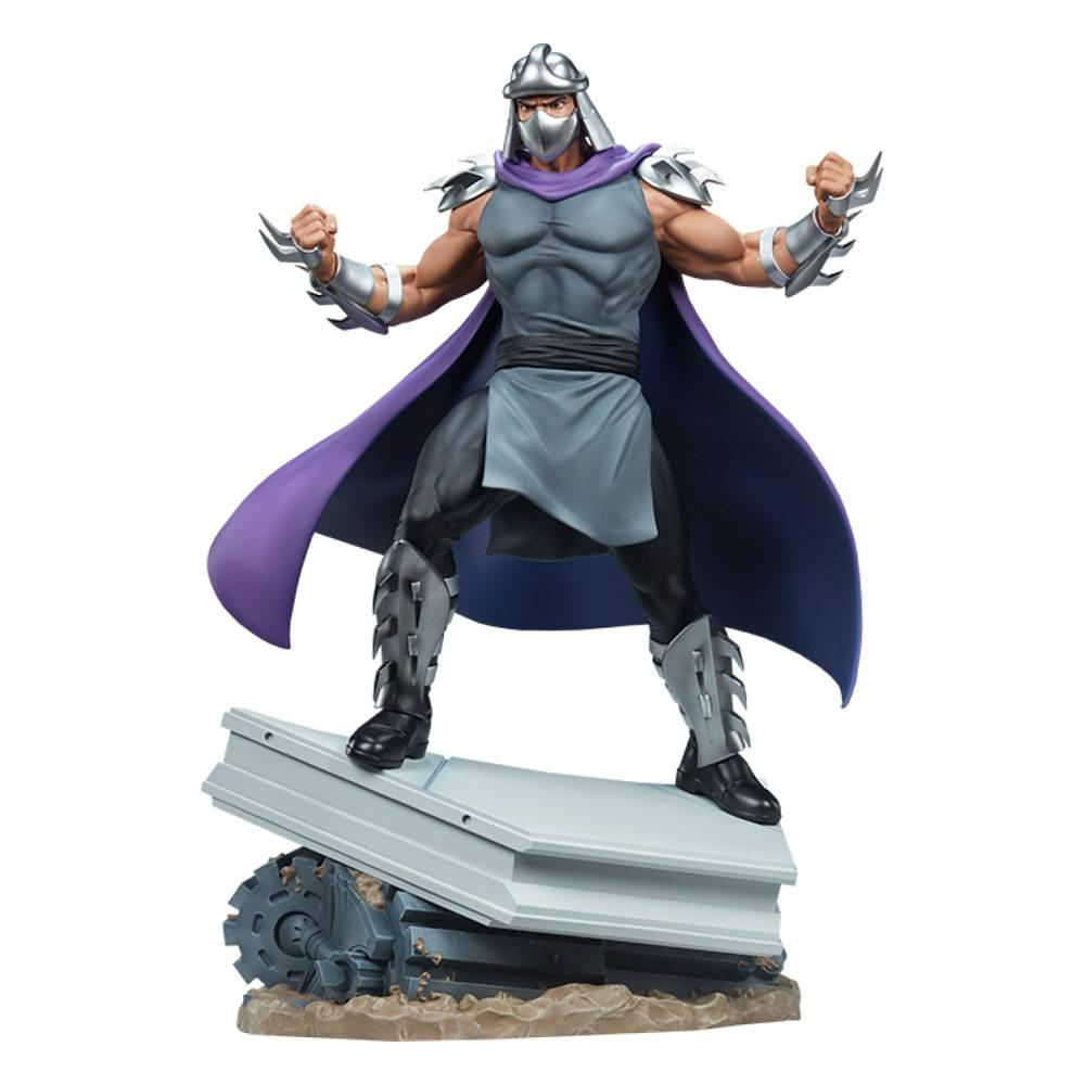 Tmnt les tortues ninja shredder statue resine pcs collectible suukoo toys 12