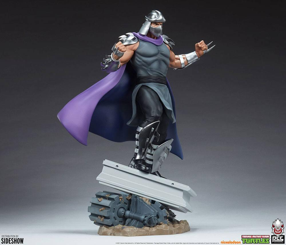 Tmnt les tortues ninja shredder statue resine pcs collectible suukoo toys 3