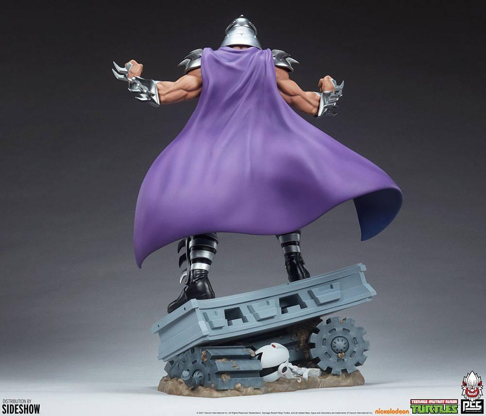 Tmnt les tortues ninja shredder statue resine pcs collectible suukoo toys 5