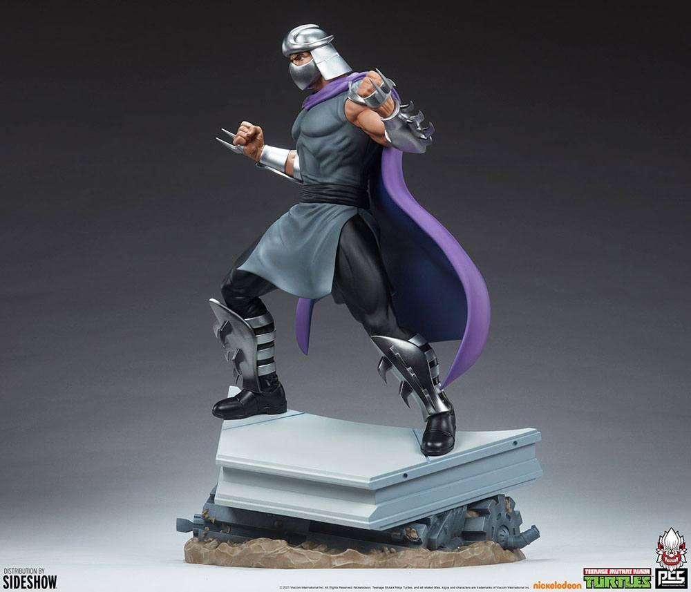 Tmnt les tortues ninja shredder statue resine pcs collectible suukoo toys 6