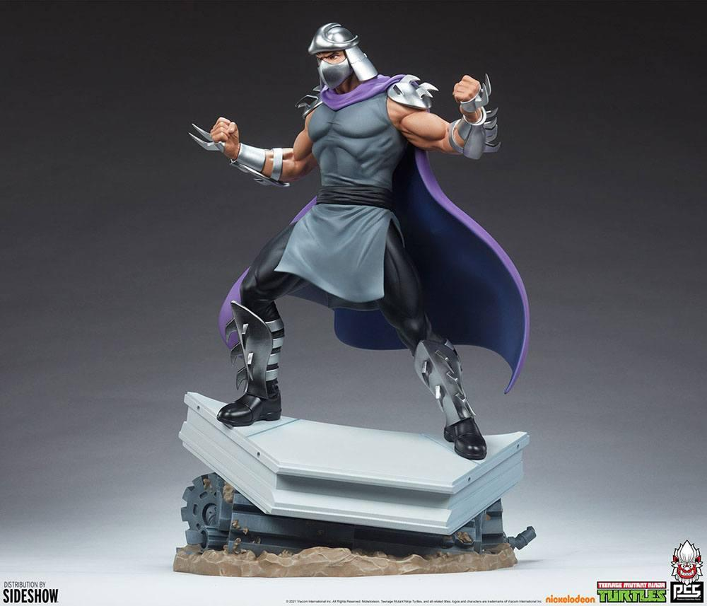 Tmnt les tortues ninja shredder statue resine pcs collectible suukoo toys 7