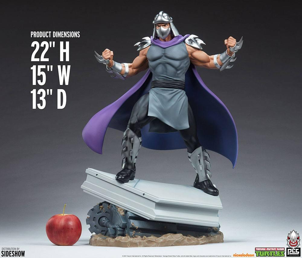 Tmnt les tortues ninja shredder statue resine pcs collectible suukoo toys 8