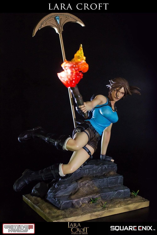 Tomb raider figurine suukoo toys gaming heads 2