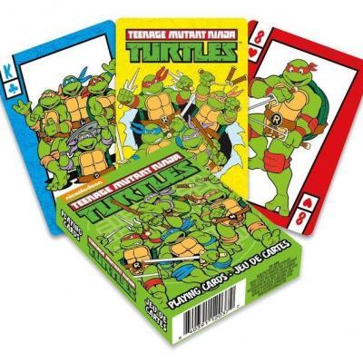 Tortues Ninja jeu de cartes à jouer Cartoon
