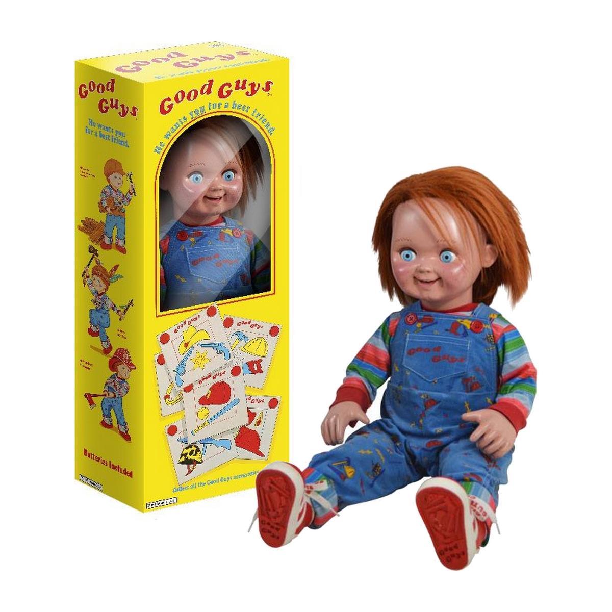 Tot studio chucky replique suukoo toys poupee taille reelle