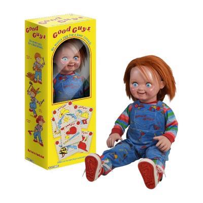 Chucky, la poupée de sang réplique poupée 1/1 Good Guys 74 cm Trick or Treat