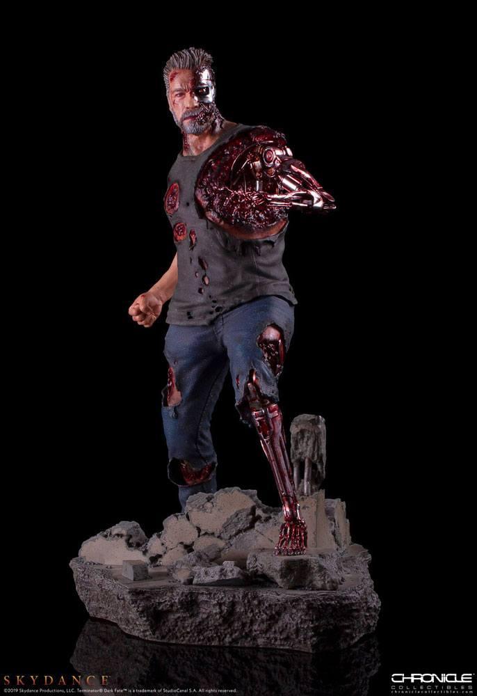 Trminator dark fate t 800 figurine statue 1