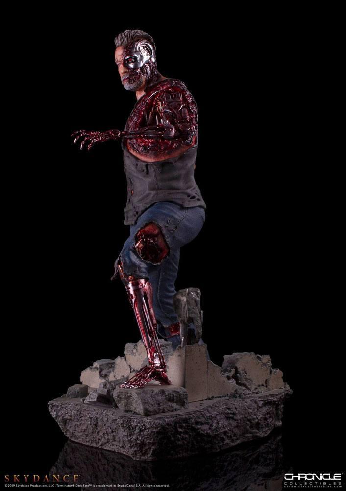 Trminator dark fate t 800 figurine statue 3