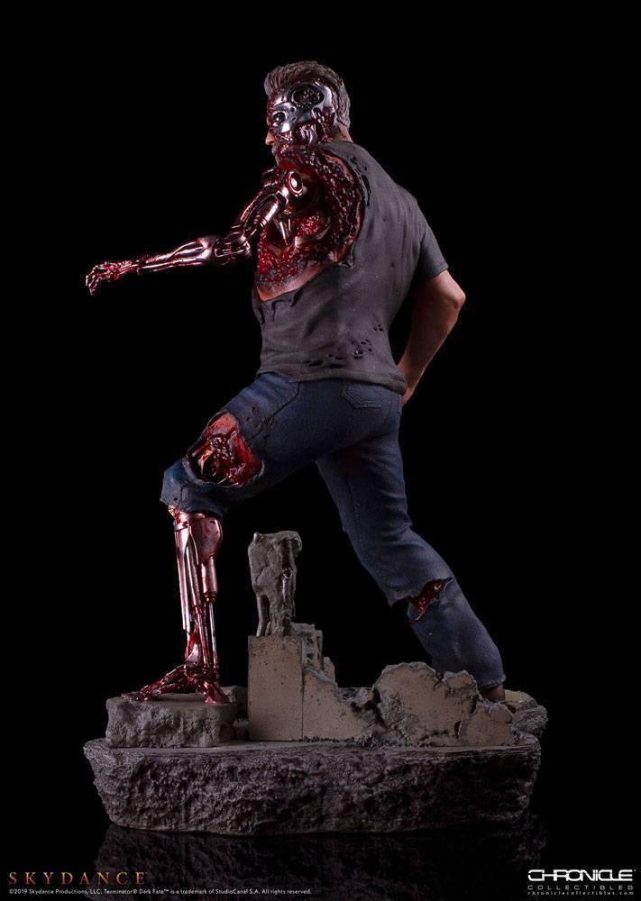 Trminator dark fate t 800 figurine statue 4