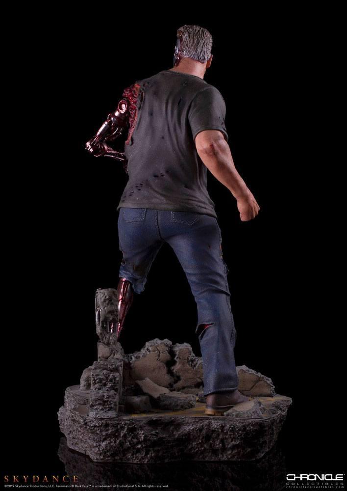 Trminator dark fate t 800 figurine statue 5