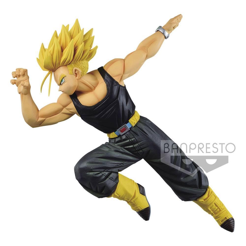Trunks super saiyan banpresto statuette 15cm 2