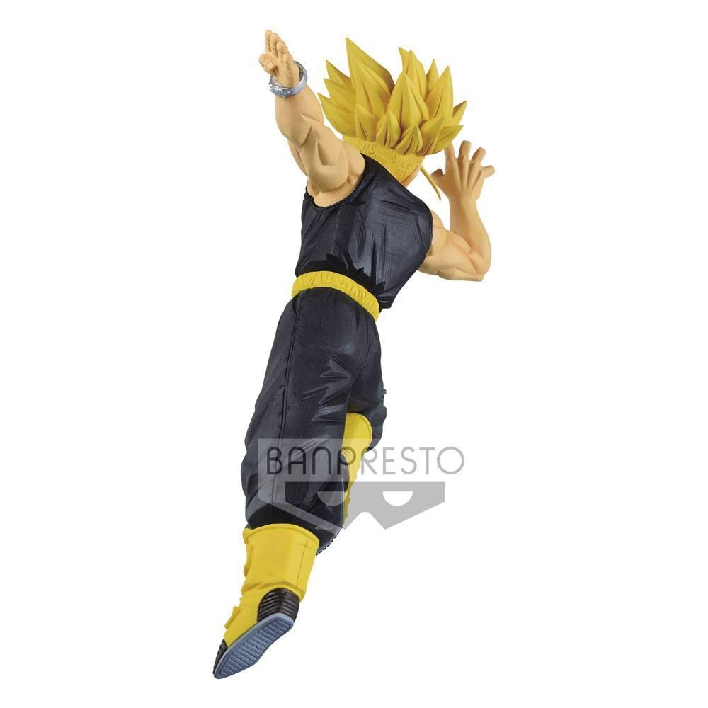 Trunks super saiyan banpresto statuette 15cm 3