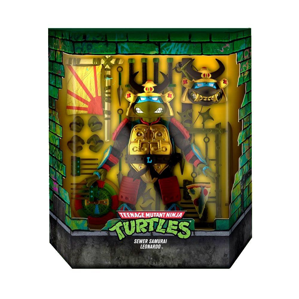 Ultimates leo samourai super7 suukoo toys jouet tmnt turtles ninja 2