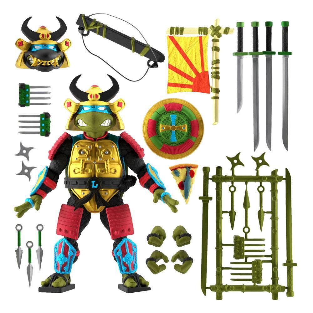 Ultimates leo samourai super7 suukoo toys jouet tmnt turtles ninja 5