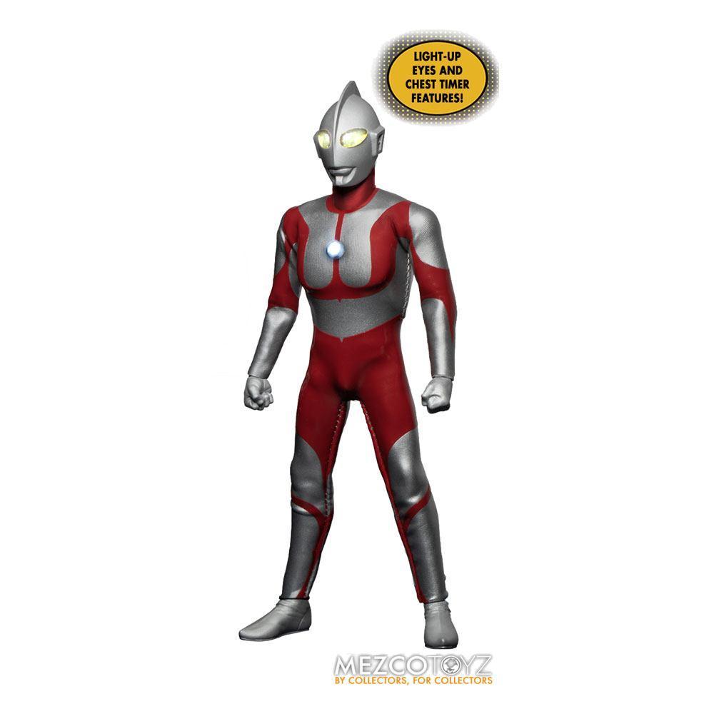 Ultraman figurine mezco toys 1