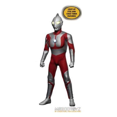 Ultraman Mezco  - Figurine lumineuse 1/12 Ultraman 16 cm